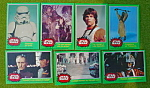 Star Wars/Return of Jedi Card Collection