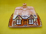 England Cottageware Butter & Cover