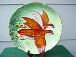 Limoges Hand Painted Bird Plate