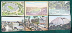 Los Angeles, Ca Postcard Collection