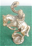 Click here to enlarge image and see more about item dst16: Cowboy on Horse Western Rodeo Figure