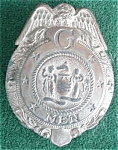 Click to view larger image of 1930's Child's G-Men Toy Badge (Image1)