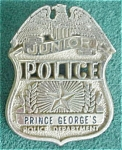 Prince Georges Junior Police Dept. Badge