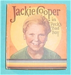 1934 Book: Jackie Cooper in Peck's Bad Boy