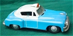 Click to view larger image of Early Highway Patrol Police Friction Car (Image1)