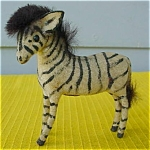West Germany Zebra Figure