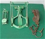 (3) Old Animal Traps