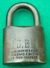 Click to view larger image of Old WB Brass Padlock (Image2)