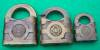 Click to view larger image of (3) Old Yale Brass Locks:  Sm., Med., Lg. (Image2)