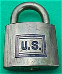 Click to view larger image of Brass U.S. Corbin Padlock (Image1)