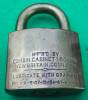 Click to view larger image of Brass U.S. Corbin Padlock (Image2)