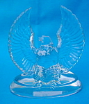 Austria Eagle Glass Paperweight