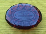 Click here to enlarge image and see more about item eg6: 1979 Cambridge Glass Convention Paperweight
