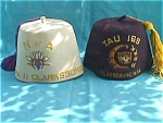 Click here to enlarge image and see more about item frat5: Pr Early Clarksburg WV Fraternal/Shriner Caps
