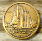 St Joseph Restoration Medallion Columbus Ohio