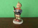 Click here to enlarge image and see more about item hd15: Little Hiker Hummel Figurine