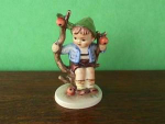 Click here to enlarge image and see more about item hd36: Hummel Figurine Apple Tree Boy