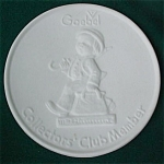 Click here to enlarge image and see more about item hd38: Goebel Collectors' Club Member Medallion