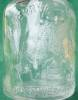 Click to view larger image of 1936 Overland Mould Co Santa Christmas Bottle (Image2)