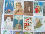 Click to view larger image of Lg. Lot of Early Christmas Postcards Germany  (Image1)
