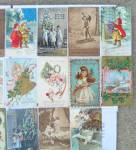Click to view larger image of Lg. Lot of Early Christmas Postcards Germany  (Image3)