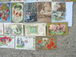 Click to view larger image of Lg. Lot of Early Christmas Postcards Germany  (Image4)