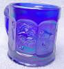 Click to view larger image of Imperial Blue Iridescent Child's Circus Mug (Image2)