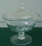 Click to view larger image of Imperial Candlewick Ftd. Candy Jar & Cover (Image1)