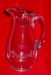 Imperial Candlewick 40 Oz. Pitcher w/No Beads