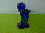 Imperial Standing Blue Colt Glass Animal