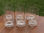 Click here to enlarge image and see more about item i67: Set of 6 Imperial Candlewick 10 oz. Tumblers