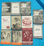 Click to view larger image of 1940's Chicago Stagebill Programs 21 Issues (Image2)