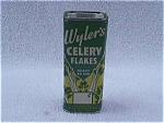 Click here to enlarge image and see more about item k16: 1950's Wyler's Celery Flakes Tin