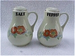 Click here to enlarge image and see more about item k17: Pr. of Large Hall Salt & Pepper Shakers