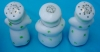 Click to view larger image of 1950's 4 Pc. Chef Porcelain Condiment Set (Image2)