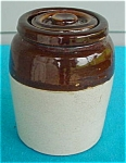Click to view larger image of Small Miniature Crock w/Lid (Image1)