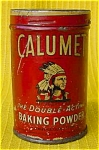 Old Calumet Baking Powder Salesman Sample Tin