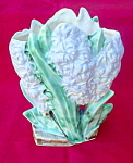 Click to view larger image of McCoy Pottery Hyacinths Flower Vase (Image1)