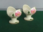 Click to view larger image of Pr. Of Franciscan Desert Rose Candleholders (Image1)