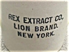 Click to view larger image of Rex Extract Co. New York Crock Jug (Image2)