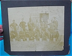 Click here to enlarge image and see more about item pa11: Early Miners/Mining Group Photo