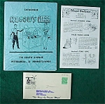 Regow's Magic Studio Catalog--Pittsburgh, Pa