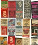 Click to view larger image of Coal Mining Advertisement Matchbook Covers (Image2)
