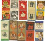 Click to view larger image of Old Dog Dog Food Matchbook Cover Collection (Image2)