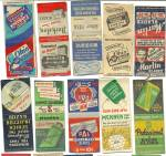 Click to view larger image of Old Gum Bubble Chewing Gum Matchbook Covers (Image2)