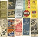 Click to view larger image of  Old Pharmacy Drug Store Matchbook Covers (Image3)