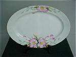 "Click here to enlarge image and see more about item pc18: Lg. Noritake Azalea 14"" Platter"