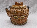 Click here to enlarge image and see more about item pc8: Grandma Ceramic Tea Pot