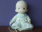 Click here to enlarge image and see more about item PMD205: Precious Moments Doll  Baby Boy