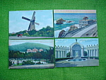 9 Old San Francisco, Calif Postcards
